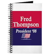 """""""Fred Thompson for President"""" Journal"""