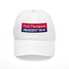 """""""Fred Thompson for President"""" Baseball Cap"""