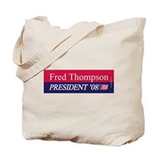 """Fred Thompson for President"" Tote Bag"