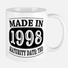 Made in 1998 - Maturity Date TDB Mug