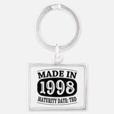 Made in 1998 - Maturity Date TD Landscape Keychain