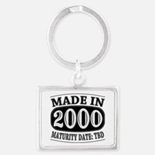 Made in 2000 - Maturity Date TD Landscape Keychain
