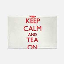Keep Calm and Tea ON Magnets