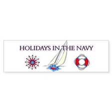 Holiday Bumper Bumper Sticker