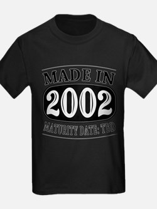 Made in 2002 - Maturity Date TDB T