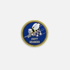 Funny Navy seabee Mini Button