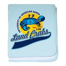 Land Crabs Law baby blanket