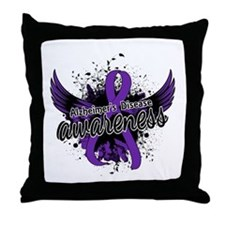 Alzheimer's Awareness 16 Throw Pillow