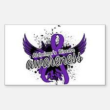 Alzheimer's Awareness 16 Decal