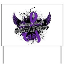Alzheimer's Awareness 16 Yard Sign
