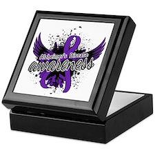 Alzheimer's Awareness 16 Keepsake Box