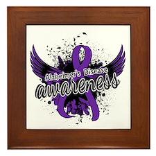 Alzheimer's Awareness 16 Framed Tile
