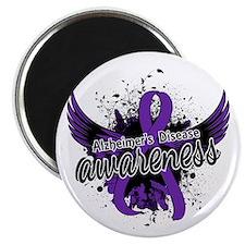 """Alzheimer's Awareness 16 2.25"""" Magnet (10 pack)"""