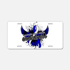 ALS Awareness 16 Aluminum License Plate