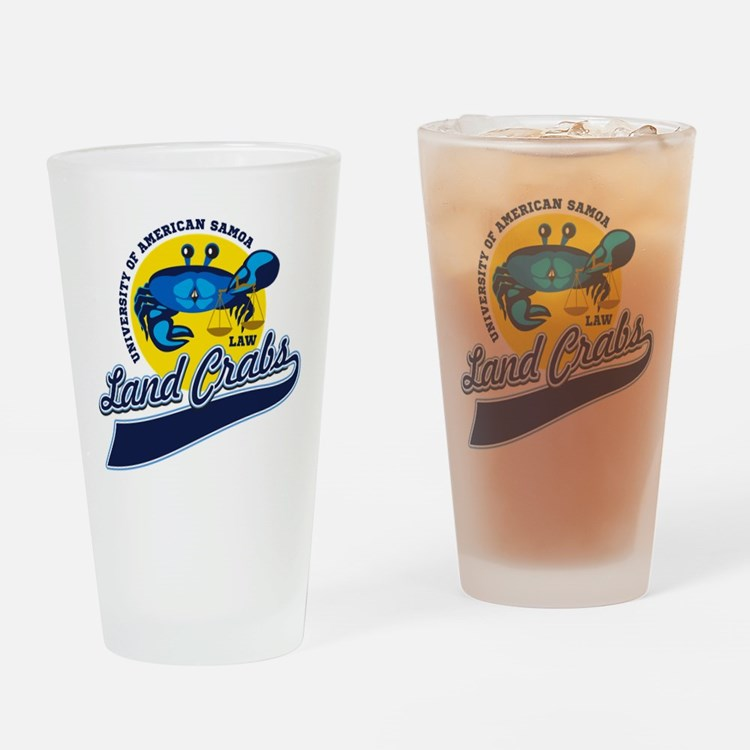 Land Crabs Law Drinking Glass