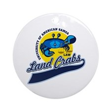 Land Crabs Law Ornament (Round)