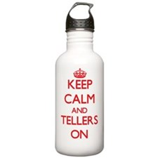 Keep Calm and Tellers Water Bottle