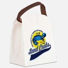 Land Crabs Law Canvas Lunch Bag