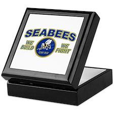 Cute Seabee Keepsake Box