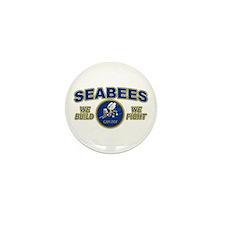 Unique Seabee Mini Button (10 pack)