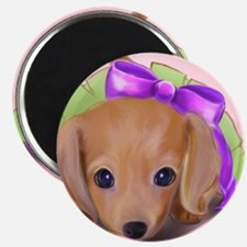 ByCatiaCho Petal Doxie Magnet