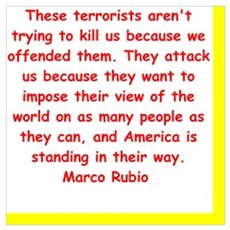 marco rubio quote Poster