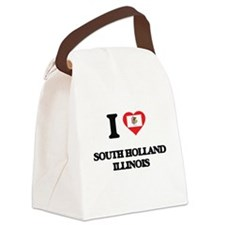 I love South Holland Illinois Canvas Lunch Bag