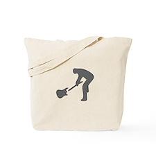 music p 113-Mus gray Tote Bag