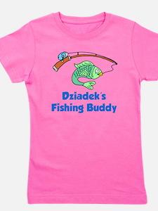 Dziadeks Fishing Buddy Girl's Tee