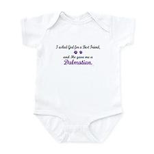 God Gave Me A Dalmatian Infant Bodysuit