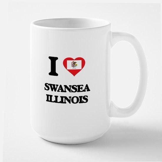 I love Swansea Illinois Mugs