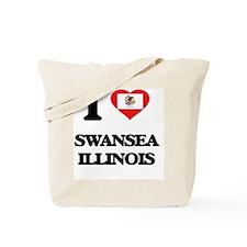 I love Swansea Illinois Tote Bag