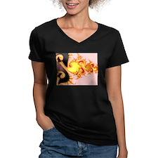 """""""Golden Dragon"""" Fractal Art Shirt"""