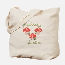 Mushrooms Hunter Tote Bag