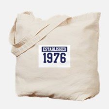 Established 1976 Tote Bag