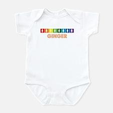 Lesbian Ginger Infant Bodysuit