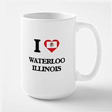 I love Waterloo Illinois Mugs