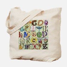 Harvest Moons Baby's Alphabet Tote Bag