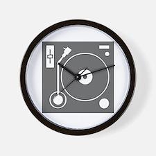 music p 73-Mus gray Wall Clock