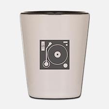 music p 73-Mus gray Shot Glass