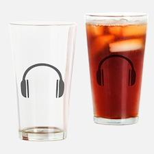 music p 85-Mus gray Drinking Glass
