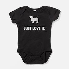 Norfolk Terrier Baby Bodysuit