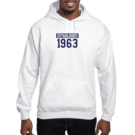 Established 1963 Hooded Sweatshirt