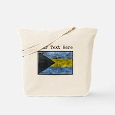 Dirty Bahamas Flag (Custom) Tote Bag