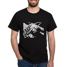 Sr-71 Flying High T-Shirt