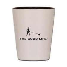 Norfolk Terrier Shot Glass