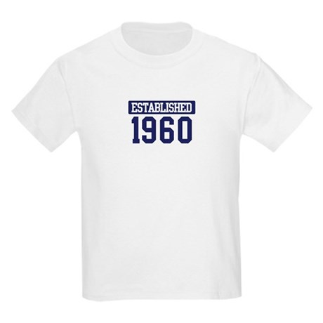 Established 1960 Kids Light T-Shirt