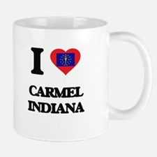 I love Carmel Indiana Mugs