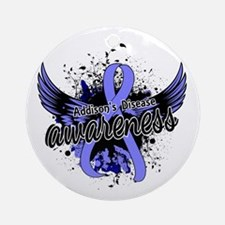 Addison's Disease Awareness 16 Ornament (Round)