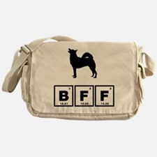 Norwegian Buhund Messenger Bag